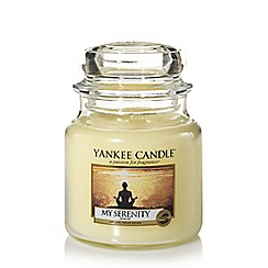 Yankee Candle - Classic 'My Serenity' medium jar candle