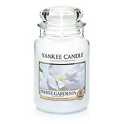 Yankee Candle - Classic 'White Gardenia' large jar candle