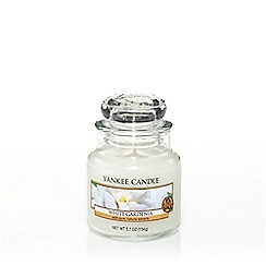Yankee Candle - Medium 'White Gardenia' scented jar candle