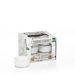 Yankee Candle - Classic 'White Gardenia' tea lights