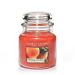 Yankee Candle - Classic 'Orange Splash' medium jar candle
