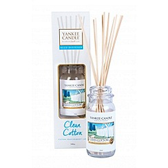 Yankee Candle - Classic 'Clean Cotton' reed diffuser