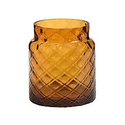 Yankee Candle - Deco lounge jar holder amber