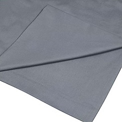 Home Collection - Mid blue 200 thread count Egyptian cotton flat sheet