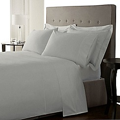 J by Jasper Conran - Supima light blue 500 thread count duvet cover