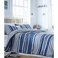 Home Collection Basics - Genoa stripe bedding set
