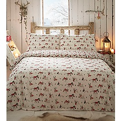 Home Collection - Santa paws bedding set