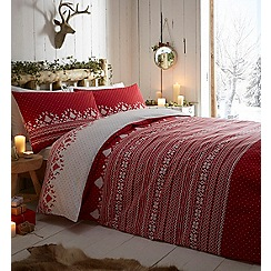 Home Collection - Fair isle bedding set