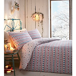 At home with Ashley Thomas - Silent night bedding set