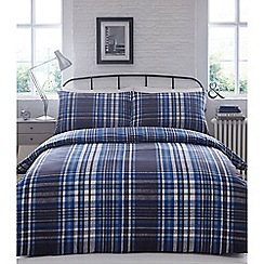 Home Collection - Blue 'Victor' bedding set