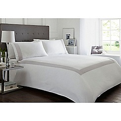 J by Jasper Conran - White 'Richmond' bedding set