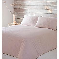 RJR.John Rocha - Pink 'Nora' bedding set
