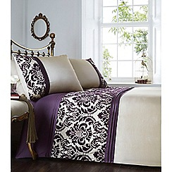 Home Collection - Purple 'Chester' bedding set