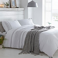 Home Collection - Grey 'Beaufort' bedding set