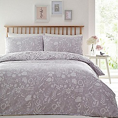 Home Collection Basics - Grey 'Florence' bedding set