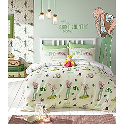 Roald Dahl - Kids' multicoloured 'BFG' bedding set