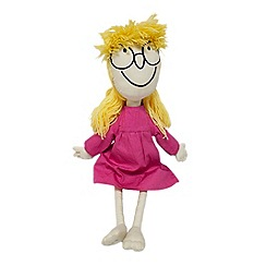 Roald Dahl - Multicoloured BFG 'Sophie' doll cushion