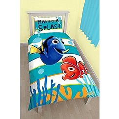 Disney PIXAR Finding Dory - Multicoloured 'Finding Dory Duvet' single bedding set