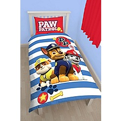 Paw Patrol - Multicoloured 'Paw Patrol' bedding set