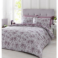 Home Collection - Purple 'Versilia' bedding set