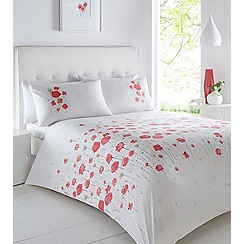 Home Collection - Off white 'Flowerfield' bedding set