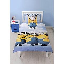 Debenhams - Multicoloured 'Despicable Me 3' single bedding set