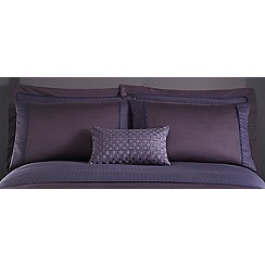 J by Jasper Conran - Purple 215 thread count 'Kensington' pillow case pair