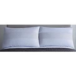 J by Jasper Conran - Grey 200 thread count 'Henley' pillow case pair