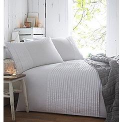 RJR.John Rocha - White 'Serenity' 180 thread count standard pillow case pair