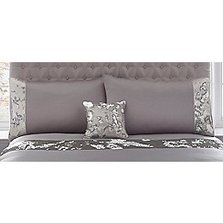 Star by Julien Macdonald - Silver sequinned 'Selena' 180 thread count pillow case pair