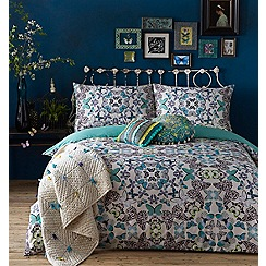 Butterfly Home by Matthew Williamson - White 'Kaleidoscope Butterfly' 220 thread count bedding set