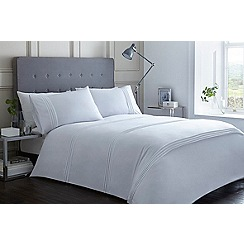 J by Jasper Conran - White pleat 'Canonbury' bedding set