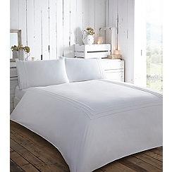 RJR.John Rocha - White 'Enaya' bedding set