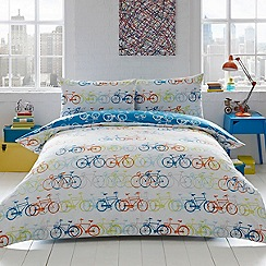 Ben de Lisi Home - Multicoloured 'Racing Bikes' bedding set