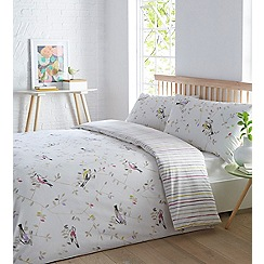 Home Collection - Off white 'Scandi Bird' bedding set