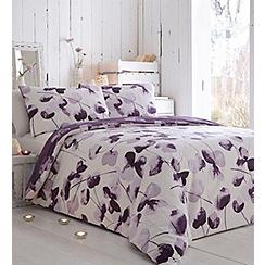 RJR.John Rocha - Purple printed 'Honesty' bedding set