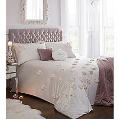 Star by Julien Macdonald - Oyster 'Arienne' duvet cover