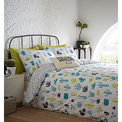 Ben de Lisi Home - Multicoloured printed 'Cacti Dreams' bedding set