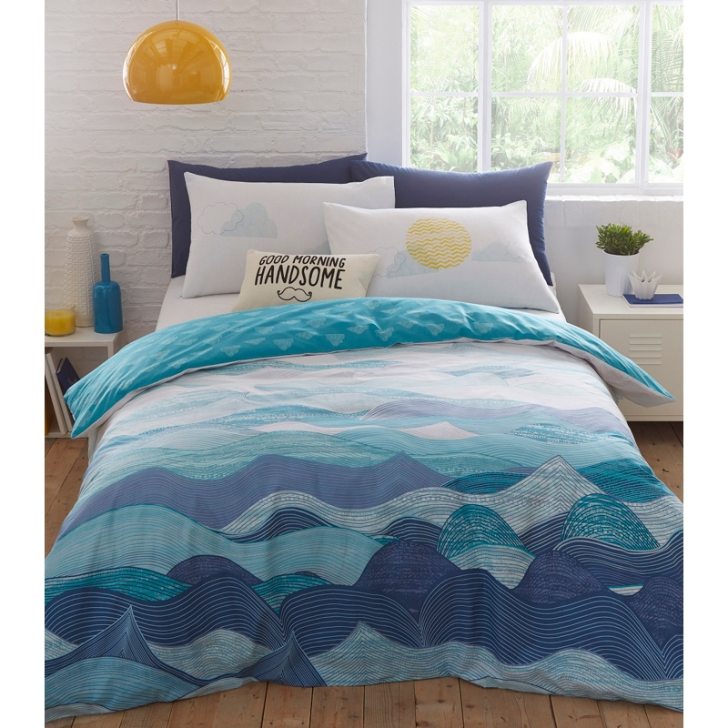 Ben de lisi home multicoloured printed malibu bedding set ben de lisi home multicoloured printed malibu bedding set 2100 bullring gumiabroncs Image collections