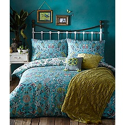 Butterfly Home by Matthew Williamson - Multicoloured printed 'Aloha' bedding set