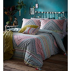 Butterfly Home by Matthew Williamson - Multi-coloured printed 'Havana' bedding set