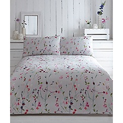 RJR.John Rocha - Multicoloured printed floral 'Vines' bedding set