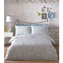 Butterfly Home by Matthew Williamson - Multicoloured printed 'Paisley' bedding set