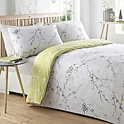 Home Collection - Off white'Birdy' bedding set