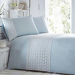 RJR.John Rocha - Pale blue 'Daisy' bedding set