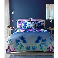 Lipsy - Multicoloured 'Mirrored Orchid' bedding set