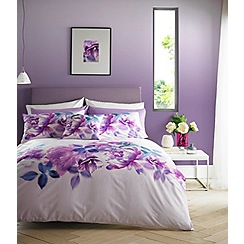 Lipsy - Multicoloured 'Translucent Bloom' bedding set