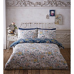 Butterfly Home by Matthew Williamson - Multicoloured printed 'Antique Bird' bedding set