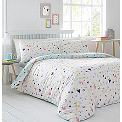Home Collection - Multicoloured printed 'Confetti' bedding set