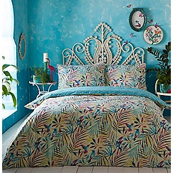 Butterfly Home by Matthew Williamson - Multicoloured printed 'Palm' bedding set